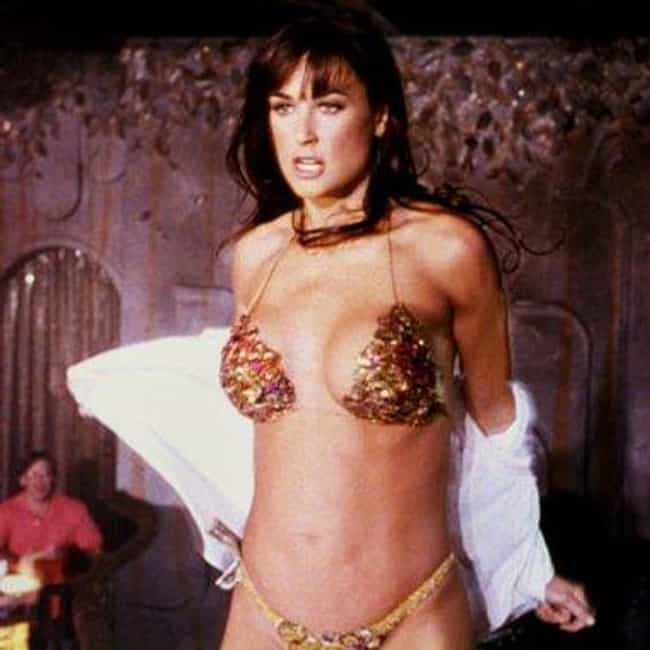 Demi Moore is listed (or ranked) 4 on the list The Hottest Actresses Who Have Played Strippers