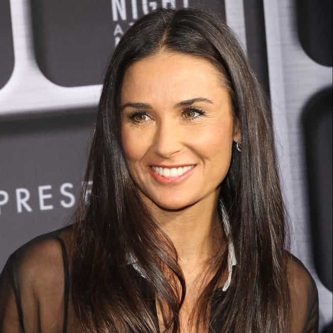 Demi Moore is listed (or ranked) 4 on the list 8 Excellent Celebrity Breast Augmentations