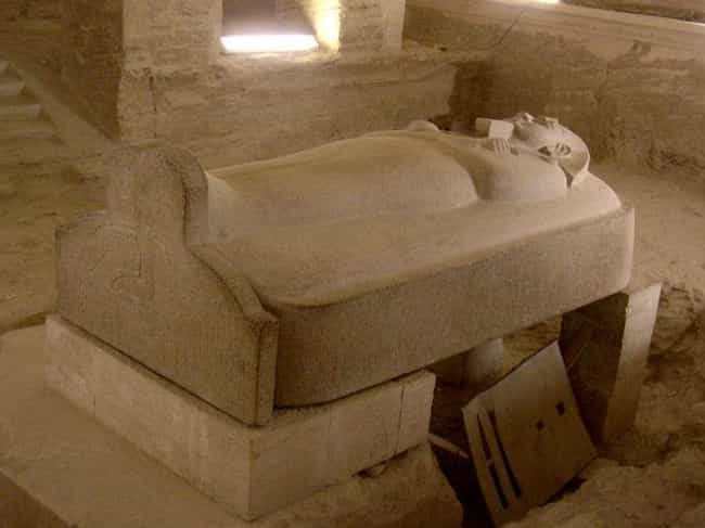 Sarcophagus is listed (or ranked) 2 on the list Odd And Insane Things Ancient Pharaohs Were Buried With