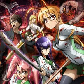 High School of the Dead is listed (or ranked) 1 on the list The Best Fan Service Manga of All Time