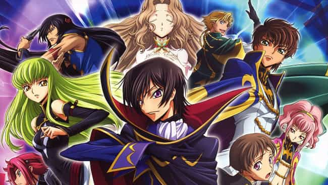 Code Geass: Lelouch of t... is listed (or ranked) 3 on the list 13 Anime Where the Government is the Villain