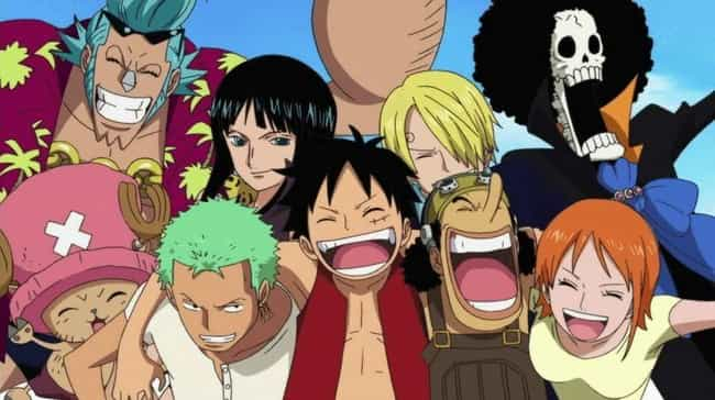 One Piece is listed (or ranked) 4 on the list 16 Overrated Anime That Get Way More Credit Than They Deserve