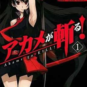 Akame ga KILL! is listed (or ranked) 6 on the list The Best Adventure Anime of All Time