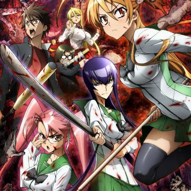High School of the Dead is listed (or ranked) 4 on the list The 13 Best Anime Like Prison School