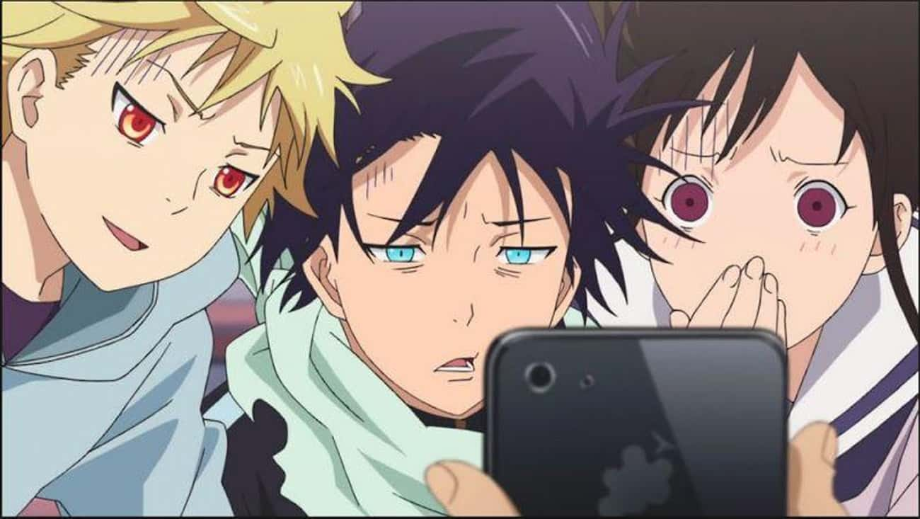 Noragami is listed (or ranked) 4 on the list The 20 Best Anime About Yokai