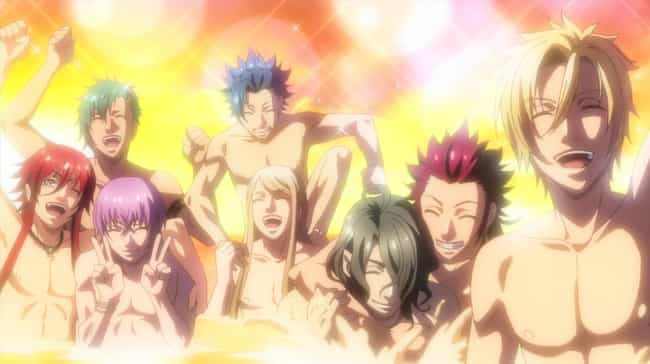 Kamigami no Asobi is listed (or ranked) 6 on the list The 16 Greatest Manservice Anime Series