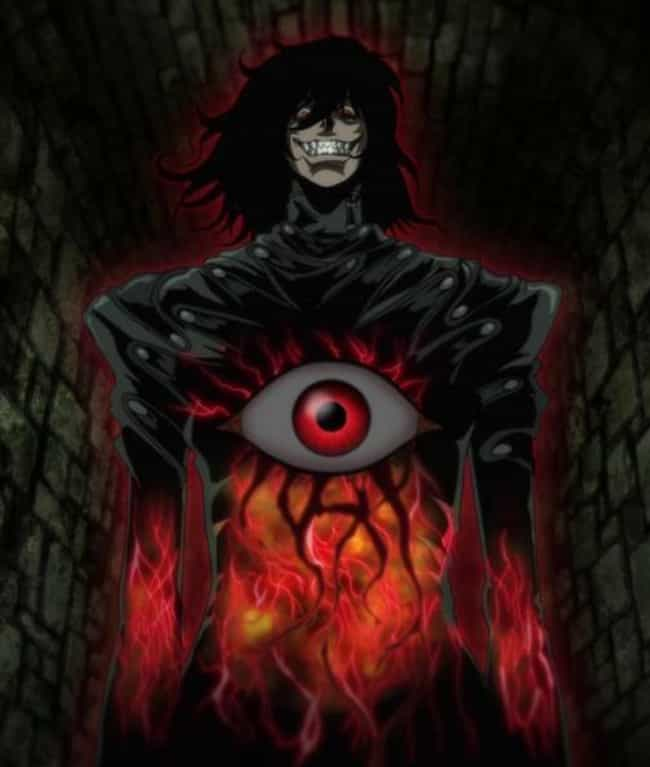 Hellsing Ultimate is listed (or ranked) 4 on the list 16 Timeless Anime That Will Never Get Stale