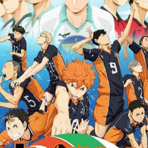 Haikyu!! is listed (or ranked) 16 on the list The Best Anime on Crunchyroll