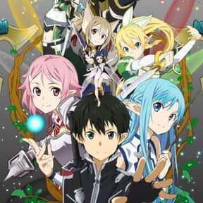 Sword Art Online II is listed (or ranked) 4 on the list The Best Fantasy Anime on Netflix