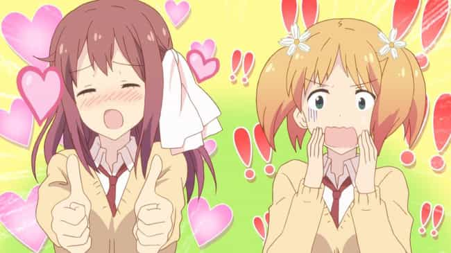 Sakura Trick is listed (or ranked) 3 on the list The Best Anime Like Bloom Into You