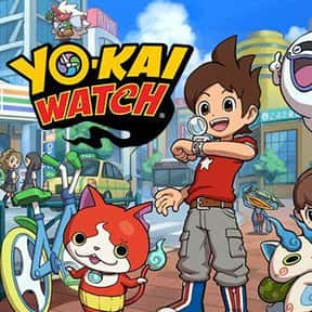 Yo-kai Watch is listed (or ranked) 13 on the list The Very Best Anime for Kids