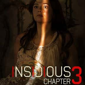 Insidious Chapter 3 is listed (or ranked) 8 on the list The Best PG-13 Horror Movies