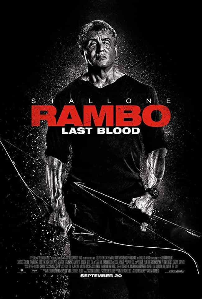 Rambo V: Last Blood is listed (or ranked) 4 on the list All 5 Rambo Movies, Ranked Best to Worst