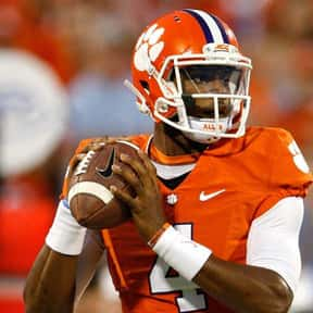 Deshaun Watson is listed (or ranked) 1 on the list The Best Clemson Tigers Quarterbacks of All Time