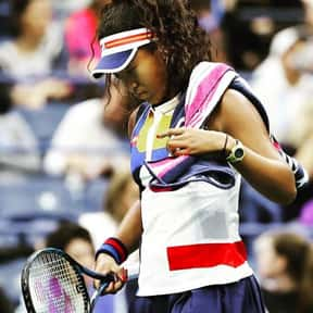 Naomi Osaka is listed (or ranked) 8 on the list Best Current Women's Tennis Serves
