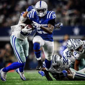 Marlon Mack is listed (or ranked) 10 on the list The Best Fantasy Football Running Backs Of 2019