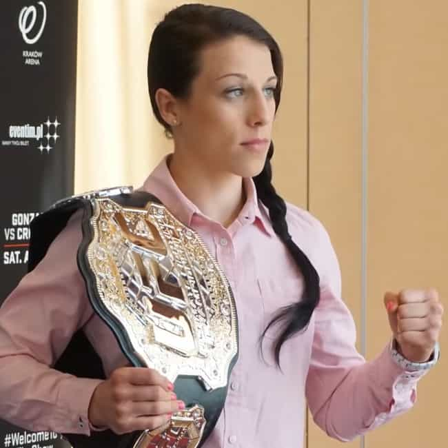 Joanna Jędrzejczyk is listed (or ranked) 4 on the list The Top Female MMA Fighters