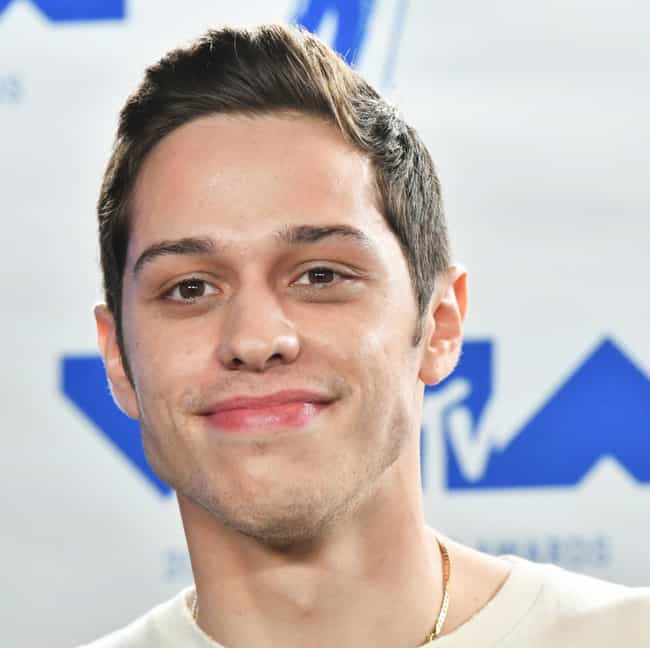 Pete Davidson is listed (or ranked) 3 on the list 12 Famous People Who Suffer From Crohn's Disease