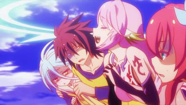 No Game No Life is listed (or ranked) 3 on the list The 13 Best Anime Like Bofuri: I Don't Want To Get Hurt So I'll Max Out My Defense