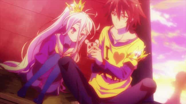 No Game No Life is listed (or ranked) 4 on the list The 13 Best Anime Like Recovery of an MMO Junkie