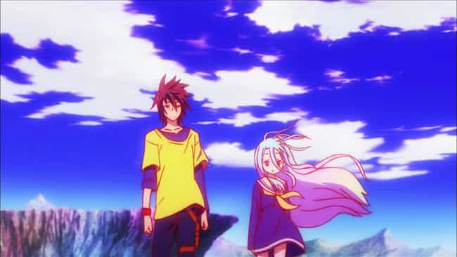 No Game No Life is listed (or ranked) 4 on the list The 13 Best Anime Like Is It Wrong to Try to Pick Up Girls in a Dungeon?