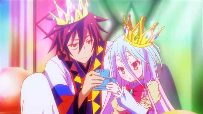 No Game No Life is listed (or ranked) 2 on the list The 13 Best Anime About Gambling