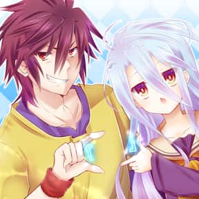 No Game No Life is listed (or ranked) 17 on the list The Best Fantasy Anime of All Time