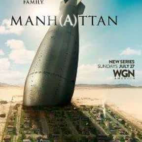 Manhattan is listed (or ranked) 3 on the list The Greatest TV Shows Set in the '40s