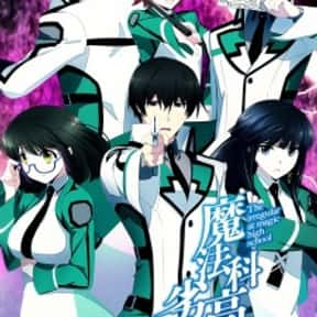 The Irregular at Magic High Sc is listed (or ranked) 3 on the list The Best Anime Like Chivalry Of A Failed Knight