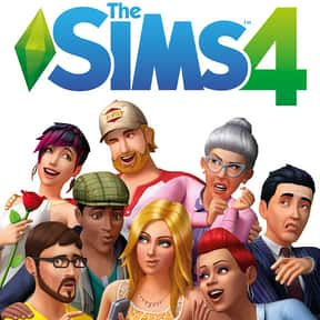 The Sims 4 is listed (or ranked) 1 on the list The Best PS4 Games For Girls