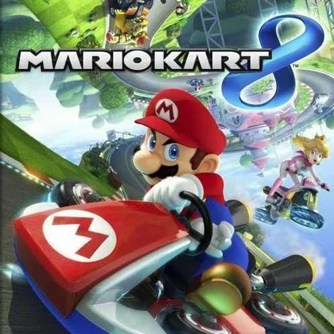 Mario Kart 8 is listed (or ranked) 4 on the list The Most Popular Nintendo Switch Games Right Now