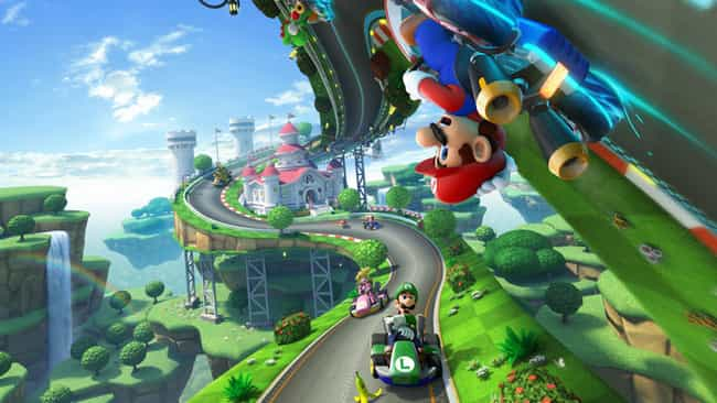 Mario Kart 8 is listed (or ranked) 1 on the list The Best Games To Play With Non-Gamers