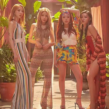 Mamamoo is listed (or ranked) 1 on the list The Best K-pop Girl Groups With 4 Members