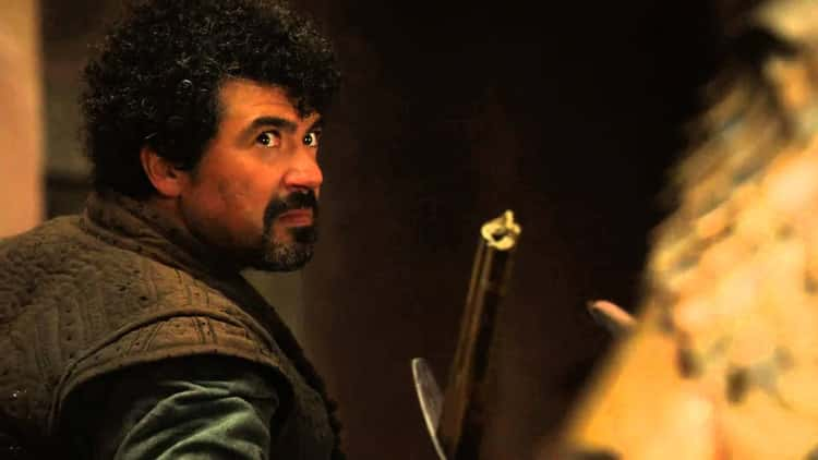 Syrio Forel Has Something To Say To The God Of Death