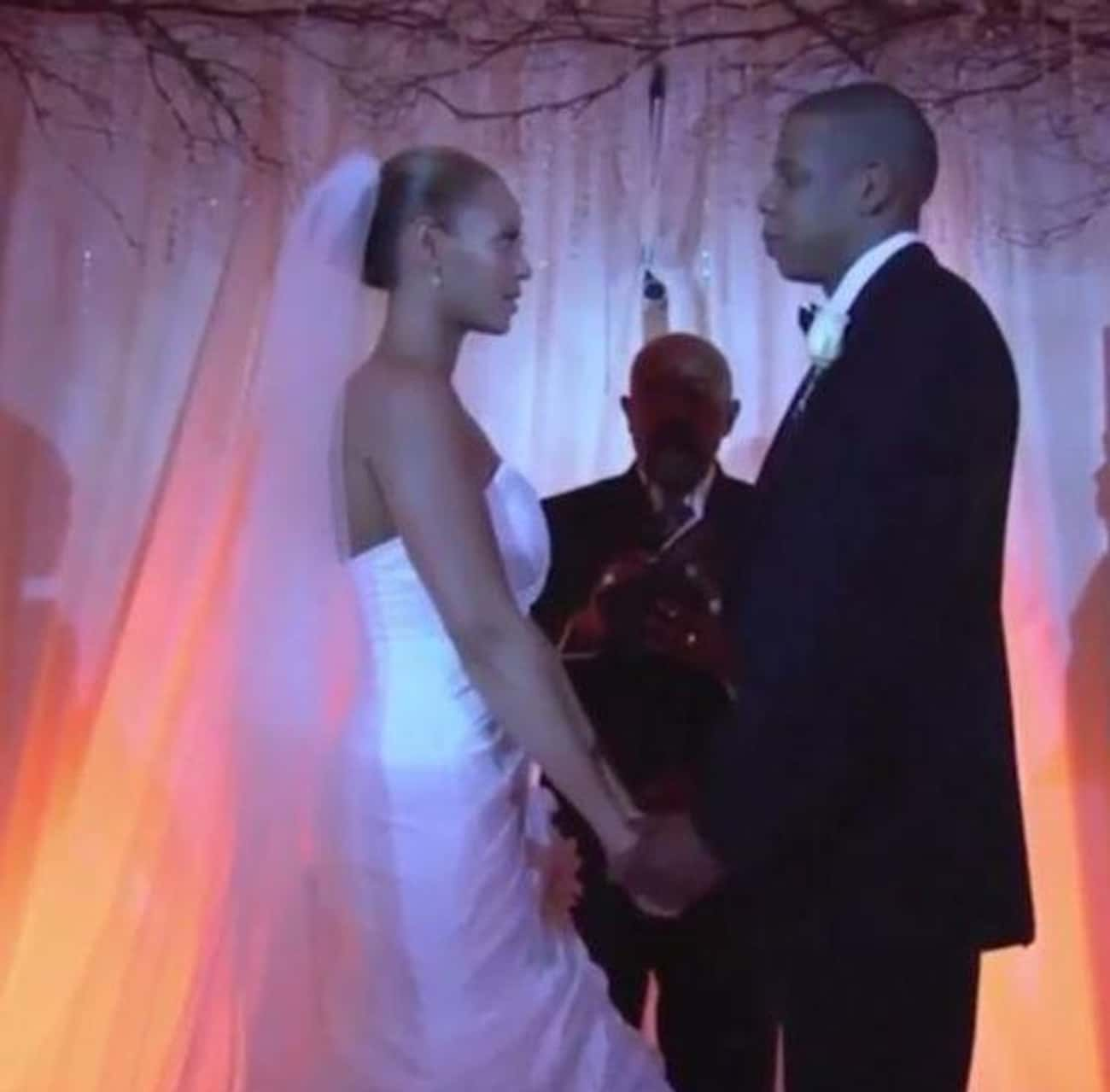 """Beyoncé And Jay-Z: """"Crazy  is listed (or ranked) 3 on the list 29 First-Dance Songs Celebs Played At Their Weddings"""
