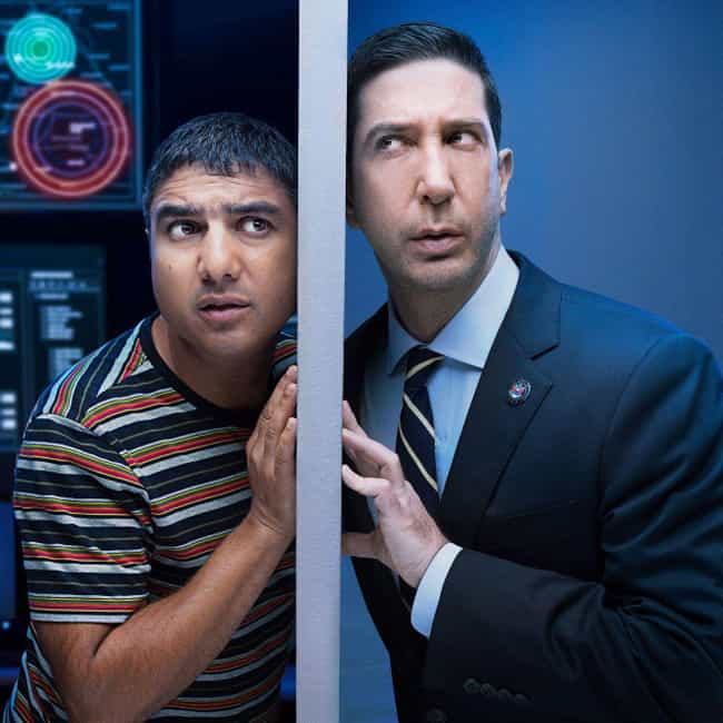Intelligence is listed (or ranked) 4 on the list The Best Current British Sitcoms