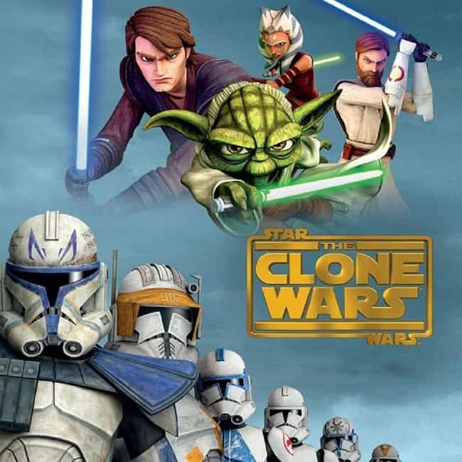 Star Wars: The Clone Wars is listed (or ranked) 1 on the list Every 'Star Wars' TV Series, Ranked