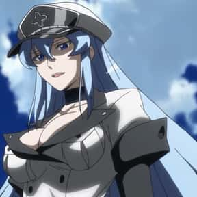 Esdeath is listed (or ranked) 13 on the list The Most Attractive Anime Girls of All Time