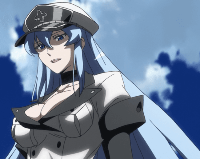 Esdeath Is Listed Or Ranked  On The List The Most Hardcore Female Anime
