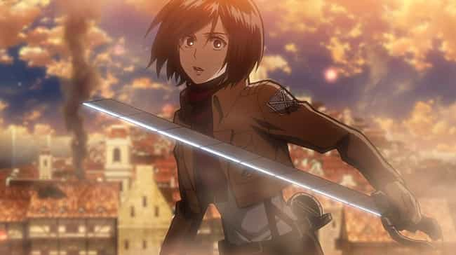 Mikasa Ackerman is listed (or ranked) 4 on the list Which Badass Female Anime Character, Based On Your Zodiac Sign?