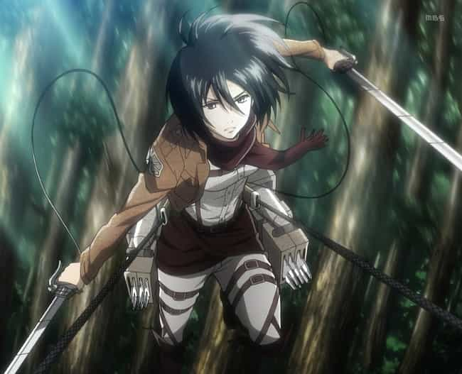 Mikasa Ackerman Is Listed Or Ranked 3 On The List Most Hardcore Female