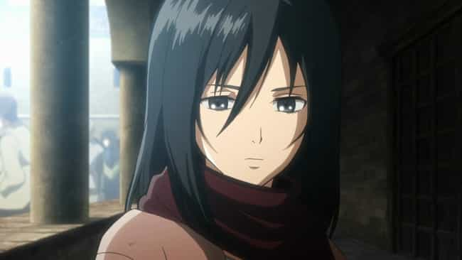 Mikasa Ackerman is listed (or ranked) 1 on the list The 25+ Best Tomboy Anime Characters of All Time