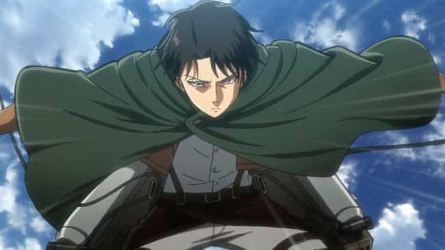 Levi Ackerman is listed (or ranked) 3 on the list 13 Anime Characters With Legendary Reputations