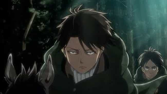 Levi Ackerman is listed (or ranked) 4 on the list The 20 Funniest Anime Quotes of All Time