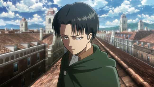 Levi Ackerman is listed (or ranked) 4 on the list 13 Characters Who Are The 'Kakashi Hatake' of Their Anime