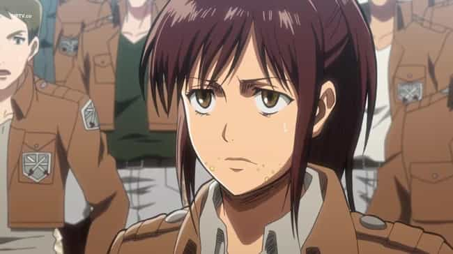 Sasha Blouse is listed (or ranked) 2 on the list Which Attack On Titan Character Are You, Based On Your Zodiac Sign?