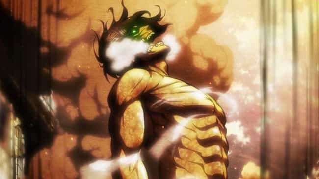 Eren Jaeger is listed (or ranked) 1 on the list 13 Anime Characters Who Had Traumatic Power Awakenings