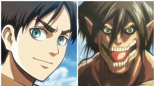 Eren Jaeger is listed (or ranked) 4 on the list The 16 Most Extreme Transformations In Anime History