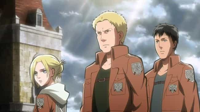 Annie Leonhardt is listed (or ranked) 4 on the list 14 Anime Characters Who Kept MAJOR Secrets From Everyone
