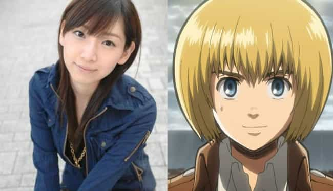 Armin Arlelt is listed (or ranked) 4 on the list 17 Anime Voice Actresses Who Are Nothing Like Their Male Roles